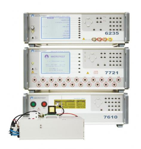 Microtest 6235+7721+6905 3 in 1 Comprehensive Transformer Testing System