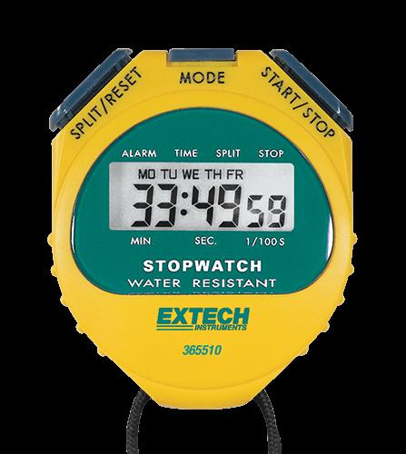 Extech 365510: Kronometre / Saat