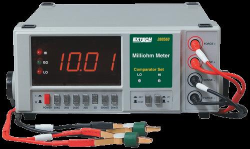 Extech 380562 Hassas Miliohmmetre