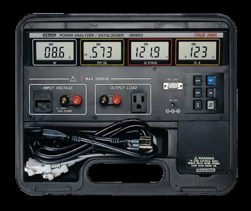 Extech 380803: True RMS Güç Analizörü Datalogger