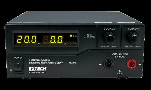 Extech 382276 DC Güç Kaynağı