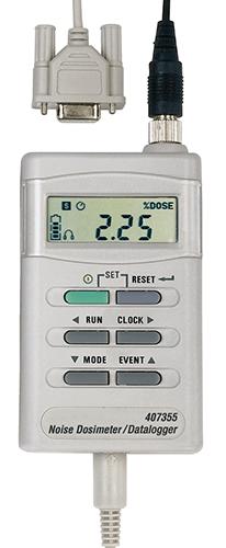 Extech 407355: PC Arayüzü ile Gürültü Dozimetre / Datalogger