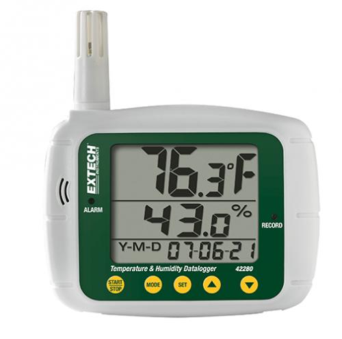 Extech 42280: Sıcaklık ve Nem Datalogger