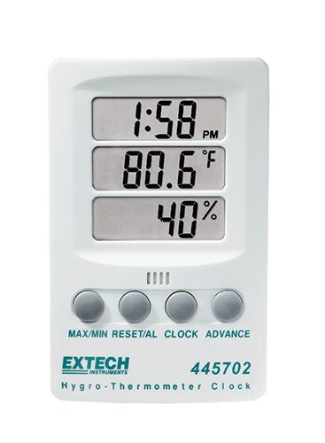 Extech 445702: Higro Termometre Saati