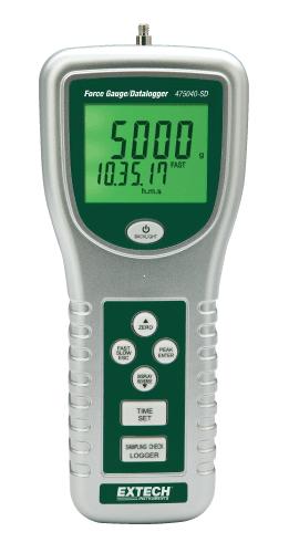 Extech 475040-SD: Dijital Kuvvet Göstergesi /Datalogger