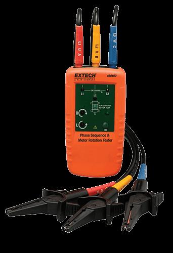 Extech 480403 Motor Dönüş Yönü Test Cihazı