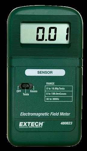 Extech 480823: Tek eksenli EMF / ELF Metre
