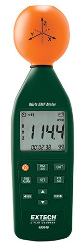 Extech 480846: 8 GHz RF Elektromanyetik Alan Gücü Ölçer