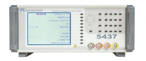 Microtest 5437 Transformer Tester