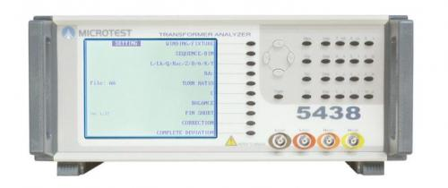 Microtest 5438 Transformer Tester