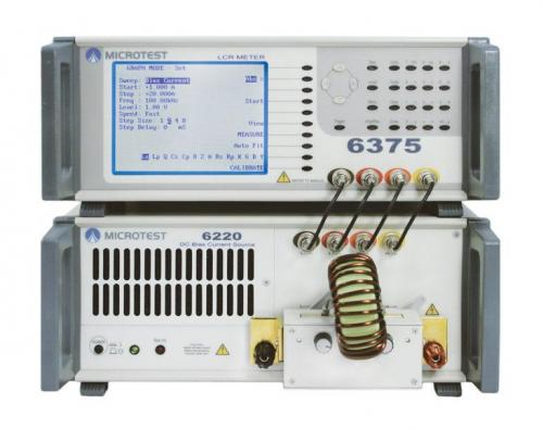 6375 + 6220 DC Bias Current Source