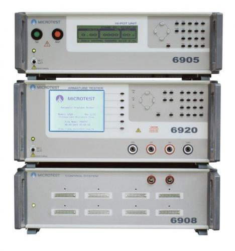 Microtest MT-6920 Motor Rotor Testing System