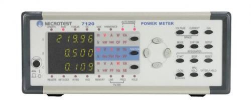 Microtest 7110/7120 Single-Phase Power Meter