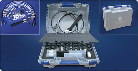 Time Electronics 7198 Pressure Calibration Accessories Kit