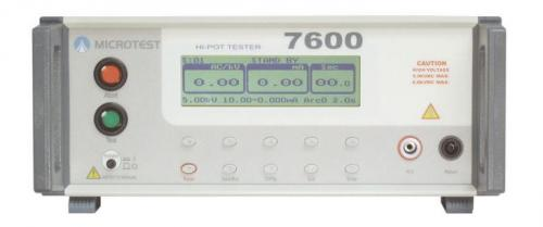 Microtest 7600 Hipot Tester
