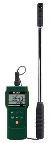 Extech AN340: CMM / CFM Anemometre / Psikrometre Datalogger