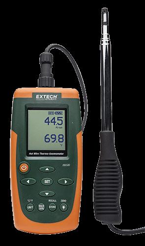 Extech AN500: Sıcak Tel CFM / CMM Termo-Anemometre