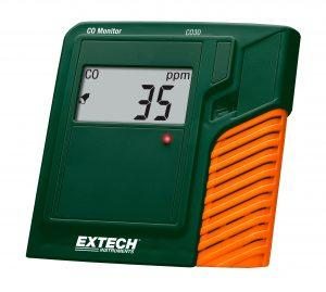 Extech CO30: CO (Karbon Monoksit) Monitörü