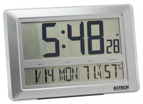 Extech CTH10A: Dijital Saat / Higro Termometre