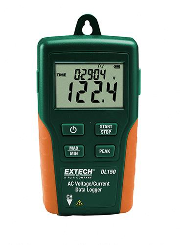 Extech DL150 Gerilim Akım Datalogger