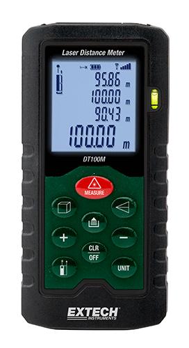 Extech DT100m – Lazerli Mesafe Ölçer