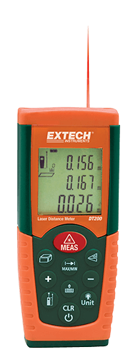 Extech DT300 – Lazerli Mesafe Ölçer