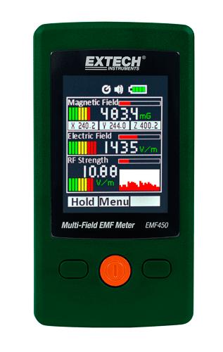 Extech EMF450: Çok Alanlı EMF Metre