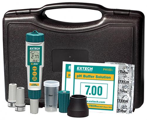 Extech EX900:  ExStik® 4-in-1 Klor, pH, ORP ve Sıcaklık Seti