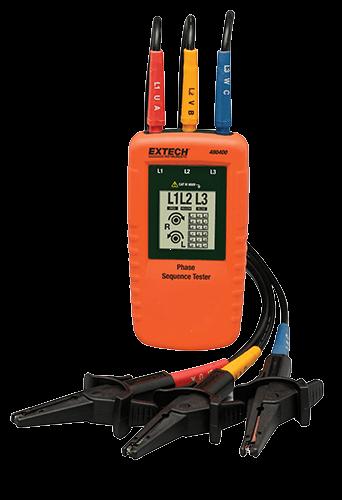 Extech 480400 Faz Sırası Test Cihazı