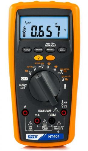 HT-Italia HT401 – Professional TRMS multimeter