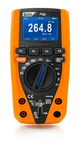 HT-Italia HT64  – Renkli Grafik Ekranlı Profesyonel DataLogger Multimetre