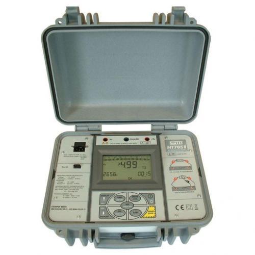 HT-Italia HT7051 – 5kV Profesyonel İzolasyon Test Cihazı