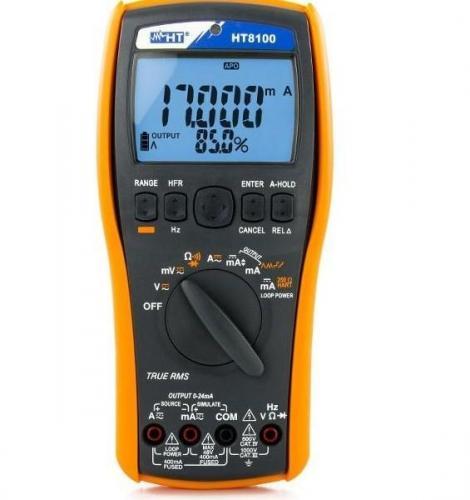HT-Italia HT8100  – Proses Multimetre