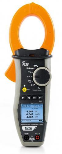 HT-Italia HT9020 – Harmonik ve Güç Ölçen Pensampermetre