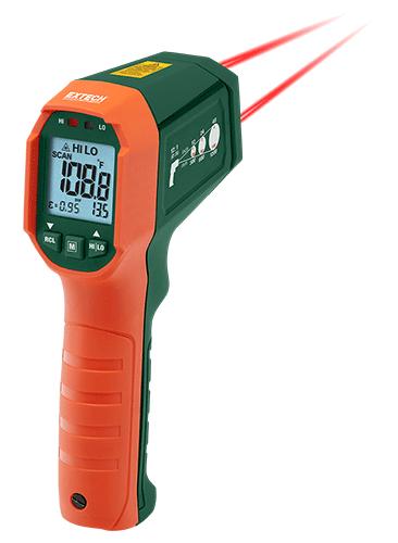 Extech IR320: Çift Lazer IR Termometre