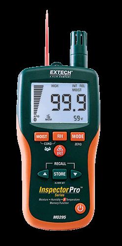 Extech MO295: Pinless Nem Psikrometre + IR Termometre