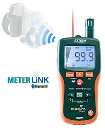 Extech MO297: IR Termometre ve Bluetooth METERLiNK ™