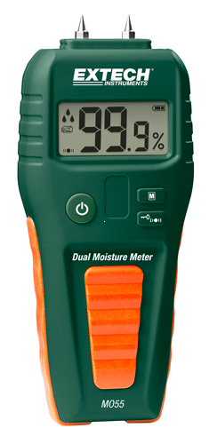 Extech MO55: Kombinasyon Pin / Pinless Nem Ölçer