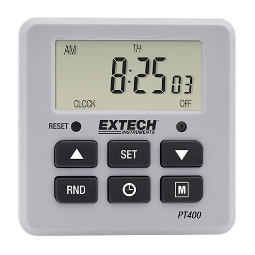 Extech PT400: Güç Zamanlayıcısı