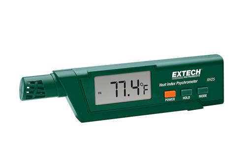 Extech RH25: Isı İndeksi Psikrometre