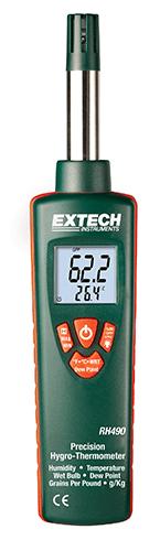 Extech RH490 Hassas Termohigrometre