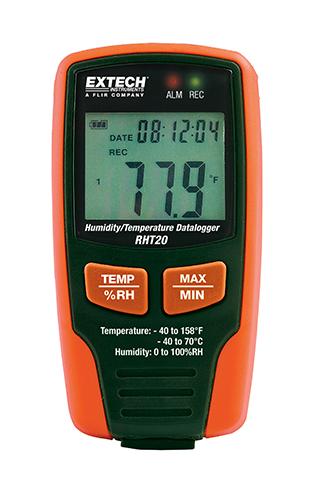 Extech RHT20: Nem ve Sıcaklık Datalogger