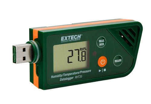 Extech RHT35: USB Nem / Sıcaklık / Barometrik Basınç Datalogger