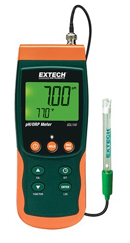 Extech SDL100: pH / ORP / Sıcaklık Datalogger