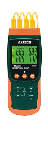 Extech SDL200: 4 Kanallı Datalogging Termometresi
