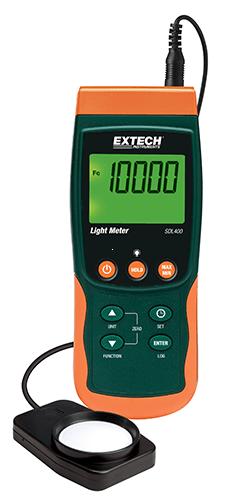 Extech SDL400: Işık Ölçer / Datalogger