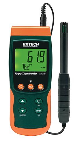 Extech SDL500: Higro Termometre / Datalogger