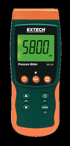 Extech SDL700: Basınç Ölçer / Datalogger