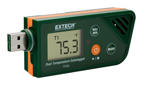 Extech TH30: USB Çift Sıcaklık Datalogger