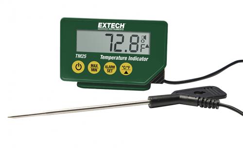 Extech TM25: Kompakt Sıcaklık Göstergesi
